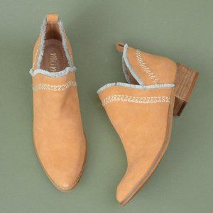 Mi.iM Beathany Camel Booties Ankle Boots 6